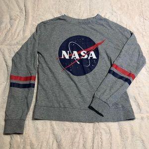 Grey H&M NASA Crewneck